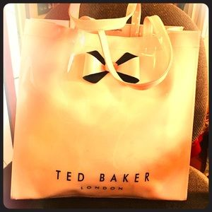 Authentic Large Black Ted Baker Tote bag purse